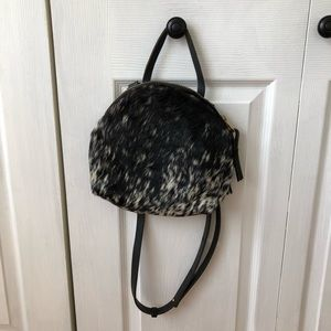 Pony hair bag by eleven thirty